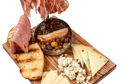 The VP Charcuterie & Cheese Board