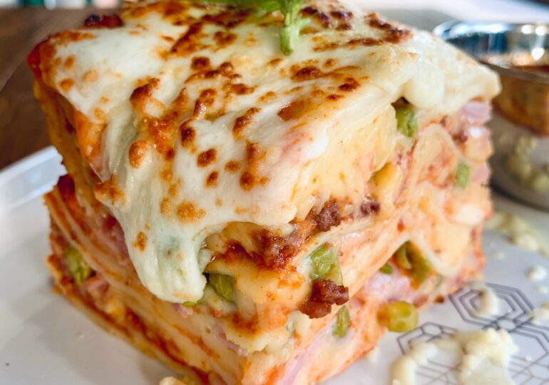 The Vesuvio Steakhouse Lasagna